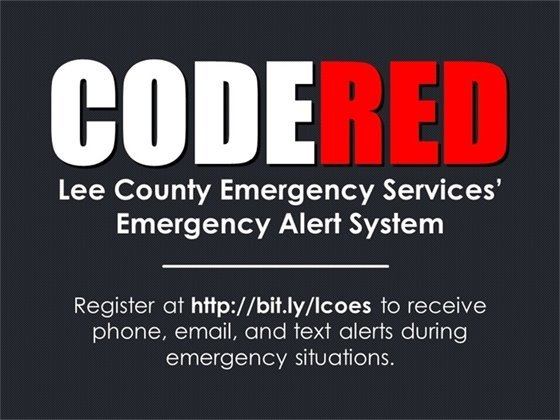 Lee County Code Red