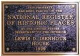 Sample National Register of Historic Places plaque