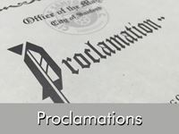 Proclamations