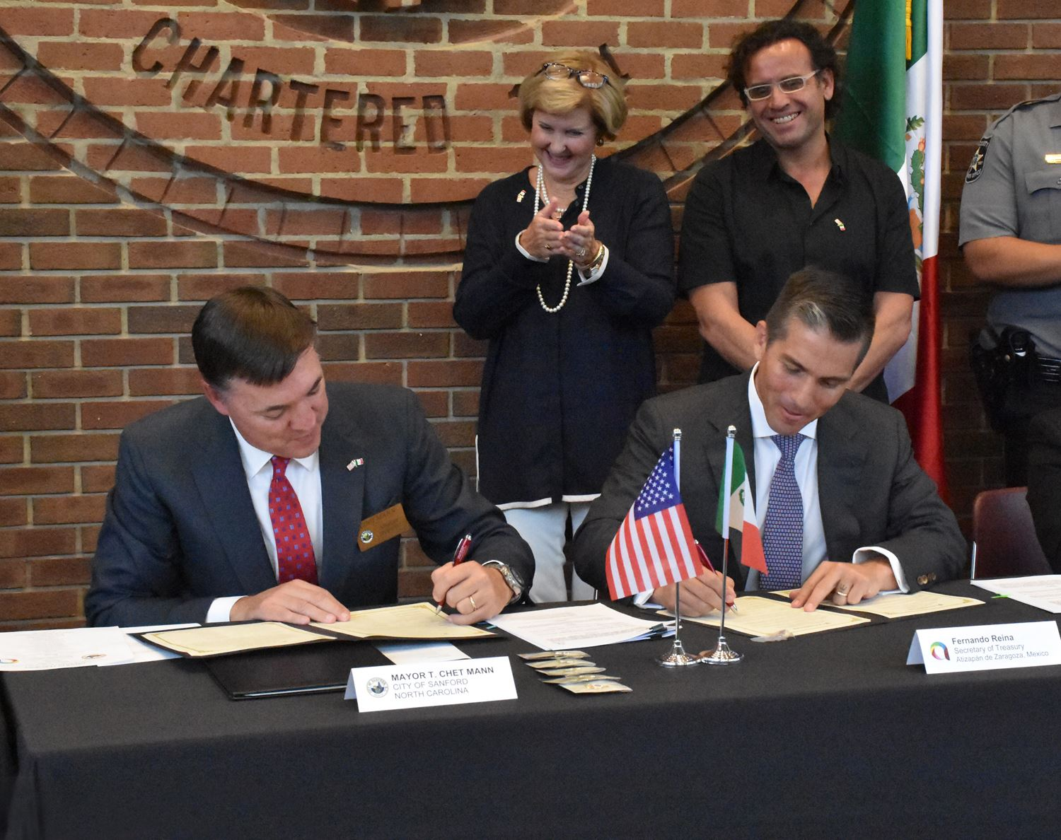 Sister City Signing